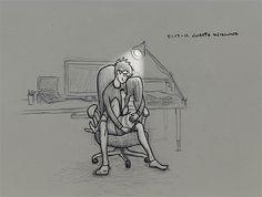 Curtis Wiklund hat 365 Zeichnungen von sich und seiner Frau gemacht | KlonBlog