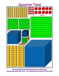 Free Place Value Printables - Nyla's Crafty Teaching - TeachersPayTeache. Math Place Value, Place Values, Second Grade Math, First Grade Math, Math For Kids, Fun Math, Math Resources, Math Activities, Math School