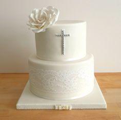 The Sugar Plum Bakery por Tara Saphir Sugar Plum Bakery, First Holy Communion Cake, Religious Cakes, Confirmation Cakes, Gluten Free Carrot Cake, Baptism Party, Baptism Ideas, Pistachio Cake, Bowl Cake