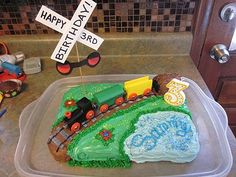 DIY Train Themed Birthday Party!