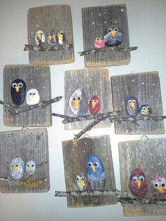 Image gallery – Page 511651207651558657 – Artofit Wood Painting Art, Wood Art, Crafty Projects, Art Projects, Hobbies And Crafts, Arts And Crafts, Art For Kids, Crafts For Kids, Forest School Activities
