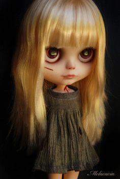 melacacia custom #131 Little Zombie Girl