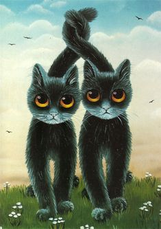 87 best anna hollerer images  cat art cats cat drawing