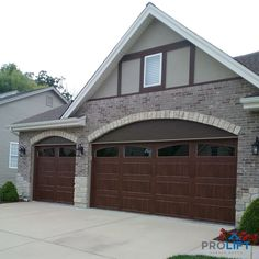 Today, there are countless number of garage doors styles from which to choose including faux wood, solid wood, steel, glass, aluminum, composite, fiberglass and more... | ProLift Garage Doors of St. Louis