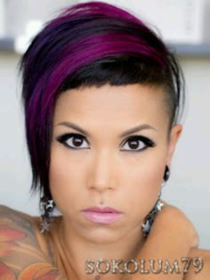 Micro bang...maybe I'll do this do! One day...before people tell me I'm too old lol!