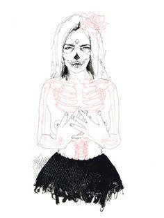 """Amora"" is an original illustration by Charmaine Olivia"