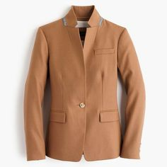 baa72cdd Shop the Petite Regent blazer in wool flannel at J.Crew and see the entire  selection of Women's Blazers. Shop Women's clothing & accessories at J.