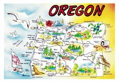 maps of Oregon - Google Search