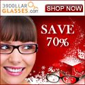 Complete pair of eyeglasses for $39