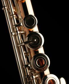 Muramatsu 9K Gold flute closeup