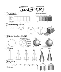 How to Draw Cool Stuff: Shading, Textures and Optical Illusions Basic Sketching, Basic Drawing, Basics Of Drawing, Pencil Shading Techniques, Art Techniques, Art Drawings Sketches Simple, Pencil Art Drawings, Watercolor Pencil Art, Geometric Shapes Drawing
