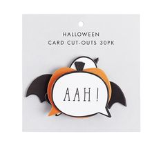 These Card Cut Outs are the perfect finishing touch for your Halloween party. Place them around your space or make party toppers by attaching them to cocktail sticks.