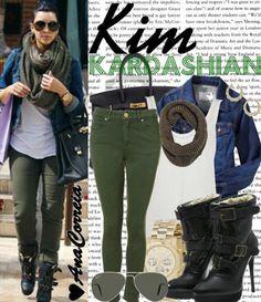 Would you wear it: Kim Kardashian Outfit ❤ | LUUUX