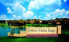 Cypress Creek Lakes Community Entry