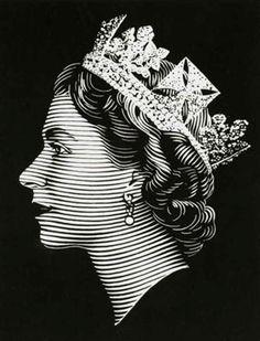 "Image Spark - Image tagged ""illustration queen"", ""letterpress"", ""illustration"" - CATCHMEIFYOUFRAN"