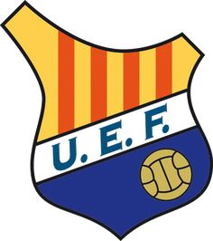 1919, UE Figueres (Figueres, Cataluña, España) #UEFigueres #Figueres #Catalonia (L19032) Sports Team Logos, Crests, Football Soccer, Badge, Herb, Spanish, San, Hs Sports, World
