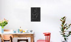 Close Noir - Quibe - Poster in kunststof lijst