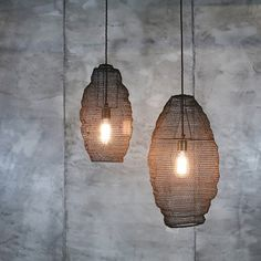 Metal wire mesh pendant light lamp shade oval industrial loft jatani wire lampshade long greentooth Gallery