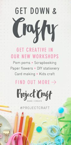 Project Craft at Paperchase