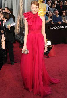 perfection, Oscars 2012. Emma Stone.