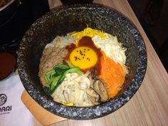 Its a good try of korean bibimbap from **** Maybe other resto serves a much more delicious korean food.
