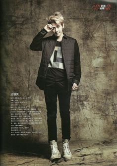 130831 EXO featured in Men's Style Magazine September Issue - Baekhyun