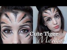 Tiger Halloween Makeup Tutorial (Cute or Sexy) - 2013 carah amelie
