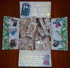 Dr. Who Christmas Care Package!