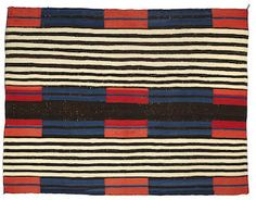 Bonhams Fine Art Auctioneers & Valuers: auctioneers of art, pictures, collectables and motor cars Native American Artifacts, Native American Beading, Native American Indians, Textile Prints, Textiles, Fashion Illustration Face, Pattern Art, Pattern Ideas, Indian Blankets
