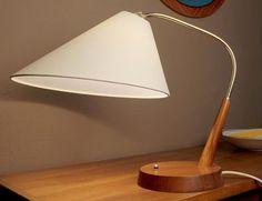 Mid Century Danish Modern Lamp Light Teak Andersen Nelson Selig Juhl Eames Era   eBay