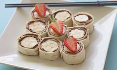 Nutella and Banana Sushi Recipe