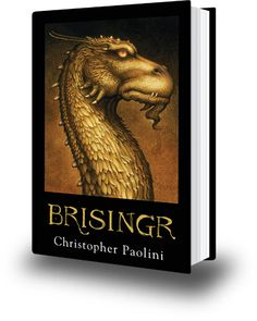 Brisingr.... Awesome fire... this kid is good!  The Trilogy turned into more...