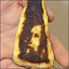 On naan bread