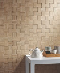 The beauty of balance and harmony emanates from the elegant texture of SHIBUSA, an innovative ceramic surface dedicated to planning and designing exquisite interiors. Mosaic Tiles, Wall Tiles, Tiles Texture, Decorative Tile, Travertine, Porcelain Tile, Tile Design, Tile Floor, Household