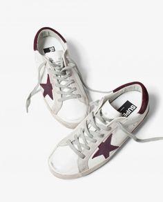 ☆ @iolandapujol ☆   Golden Goose Deluxe Brand Superstar Leather Sneakers