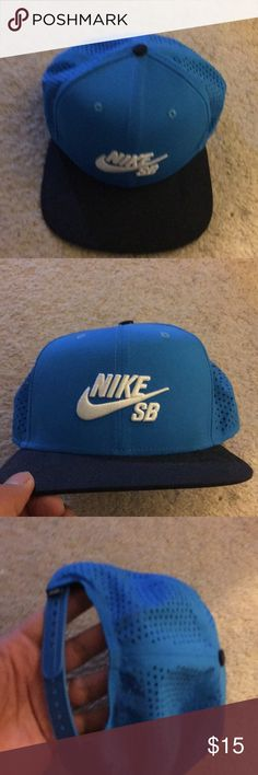 Nike sb cap Dri fit nike sb cap. One size fits all.  Never used but took tags off nike sb Accessories Hats