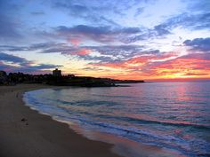 Sunrise at Coogee Beach, Sydney