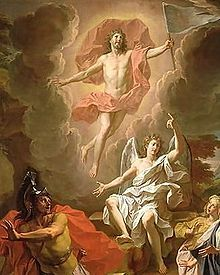 Happy Easter! Let us share the risen Christ to others. (Resurrection of Christ by Noel Coypel, 1700)