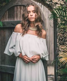 She's the one with the messy hair, flowing white dress and wild sparkles in her eyes. The Sun loves her; The Moon adores her & the Star wants to dance with her all night 🌴💖🌴☀️🌴🌜🌴⭐️🌴🌺 The gorgeous Karina is wearing our Malaga Maxi Dress from our Bohéme Gypset Collection #reginagade #RGMermaid #bohemegypset #gypset #bohemian #mermaid #bohovibes #bohoglam #maxidress #whitemaxidres #bali #islandlife #locallabel #indonesia