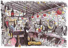 The Galley bar, Santa Monica
