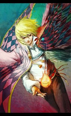 Howl's Moving Castle -- normally I don't pin fan art, but this is actually quite good.