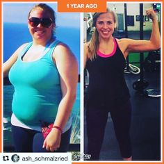 Today's InspirWeighTion from TheWeighWeWere.com {Link in bio} via REPOST @ash_schmalzried  Losing weight/gaining muscle is definitely a lifelong journey! I definitely don't look the way I did a year ago since I wasn't able to workout for about three months (which felt like years) but I'm determined to continue my journey to be HEALTHY. When I'm working out and eating right so much in my life seems to be better. . . . . . . . .  #Weightlossjourney #nsv #nonscalevictory #weightlossmotivation…