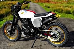 street tracker motorcycles | Some very tidy Dominators from NX650 Elsinore .