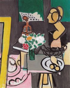 Henri Matisse (1869-1954) Still Life with Gourds (Nature morte aux coloquintes), 1916