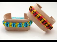 Wie erstelle ich ein Upsy Daisy Twistzy Wistzy Armband | Rainbow Loom Anleitungen