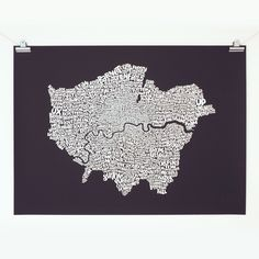 Find Greater London - White on Graphite by Ursula Hitz online. Buy art online with confidence with free art advisory. Buy Prints Online, Contemporary Art For Sale, Graphite Art, Rise Art, Greater London, Original Art For Sale, Affordable Art, Map Art, Online Art