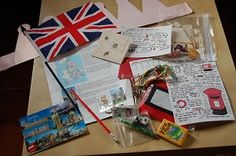 Culture swap package from England - take part at www.worldwidecultureswap.blogspot.fr