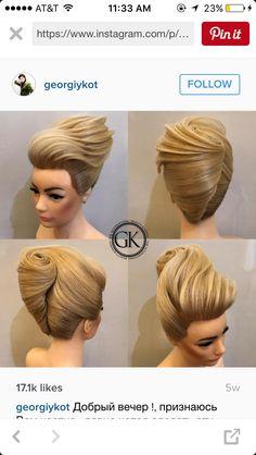 Elegant Hairstyles, Formal Hairstyles, Girl Hairstyles, Wedding Hairstyles, Bridal Hairstyle, Updo Styles, Hair Styles, Avant Garde Hair, French Twists