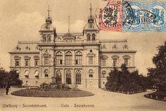 Oulu City Hall postcard, before 1920 What A Wonderful World, Wonders Of The World, Taj Mahal, City, Postcards, Travel, Vintage, Finland, Voyage