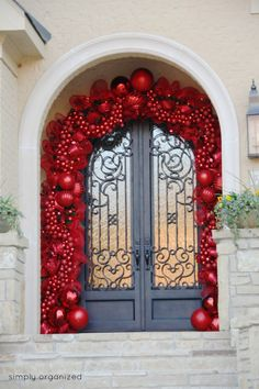 Backyards:Christmas Door Decorating Ideas Best Decorations For Your Red Ornament Doors At School Dorm Garage Decoration Contest Office Front Holiday French Classroom Inside christmas decorating ideas for doors